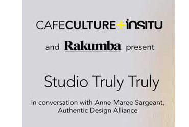 Cafe Culture + Insitu Studio Truly Truly events
