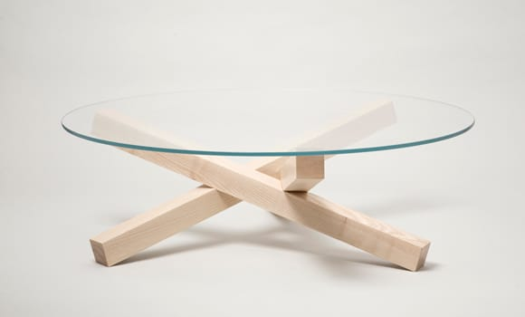 Campfire table by Tomek Archer