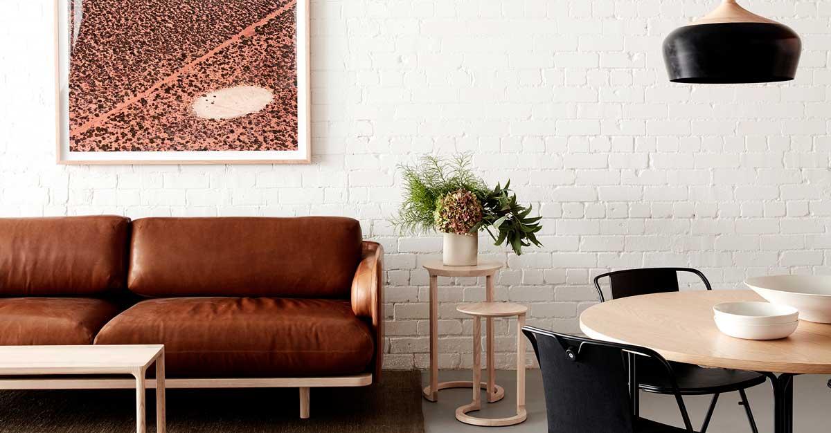 Aran sofa, Strand Chair, NAU design