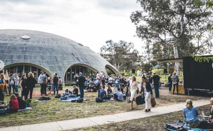 ADA Shine Dome at Design Canberra