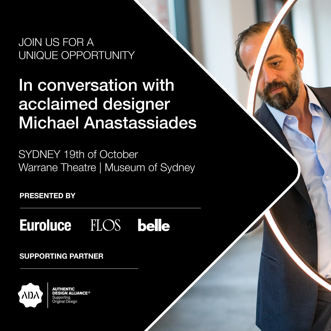 Euroluce Flos Michael Anastassiades_sydney_event