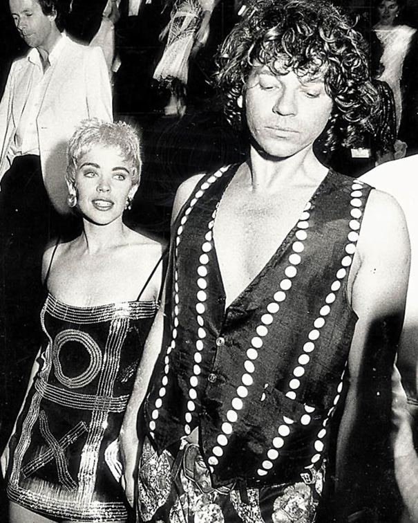 Kylie Minogue and Michael Hutchence, image Jack Atley