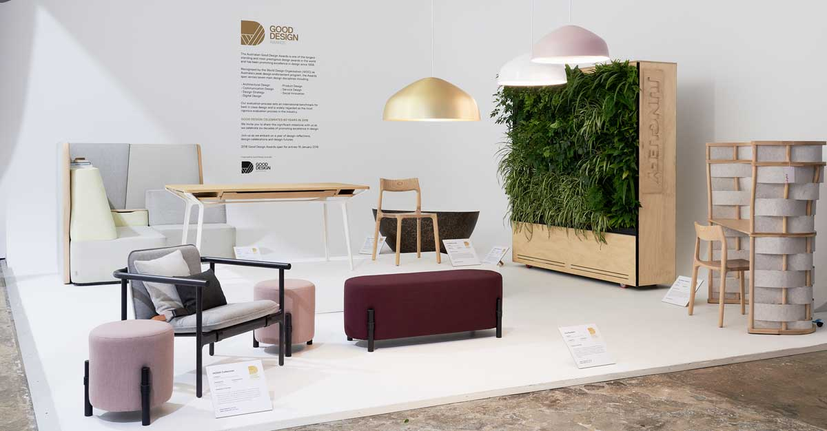 Good Design Australia showase at DESIGN MADE I Photo Fiona susanto