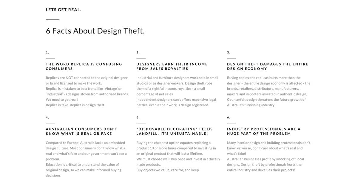 Authentic Design Alliance 6 Facts About design theft