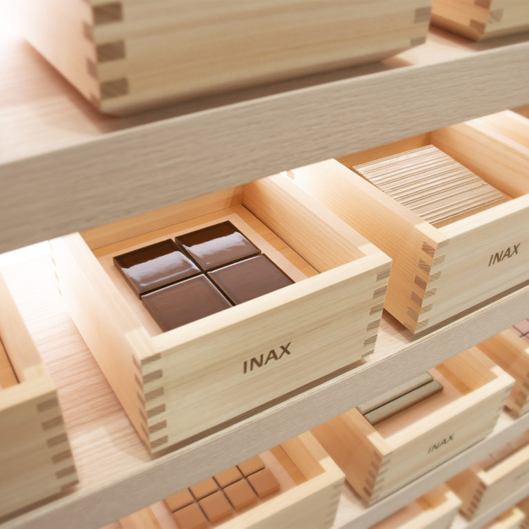 INAX Tiles, Milan launch