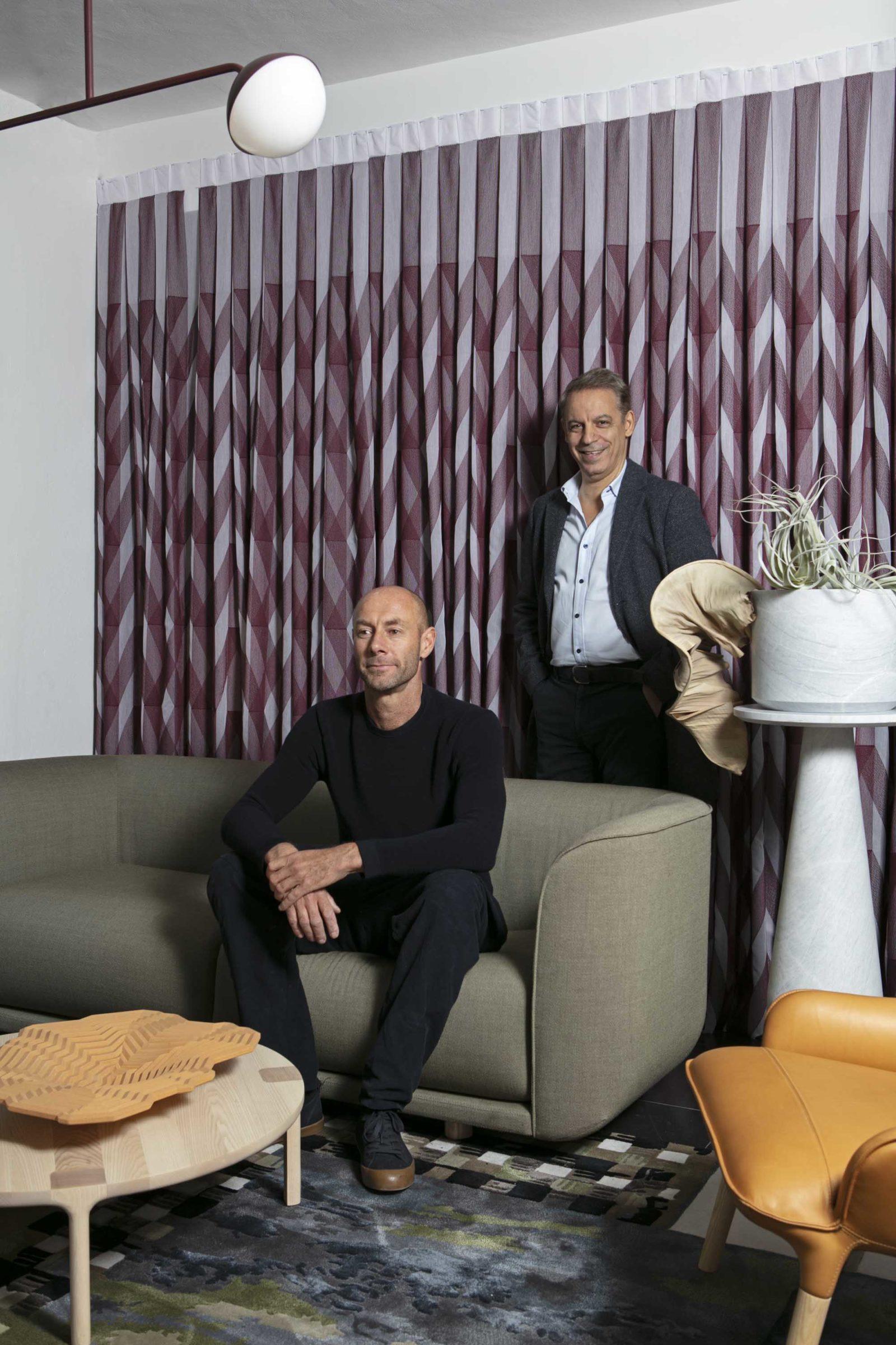 Adam Goodrum and Richard Munao at LOCAL MILAN No.4