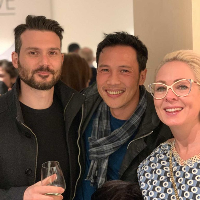 Alberto Pasquale (Toan Nguyen Studio), Luis Nheu (BSBN Architecture) and Kara Chiconi (Luxxbox)
