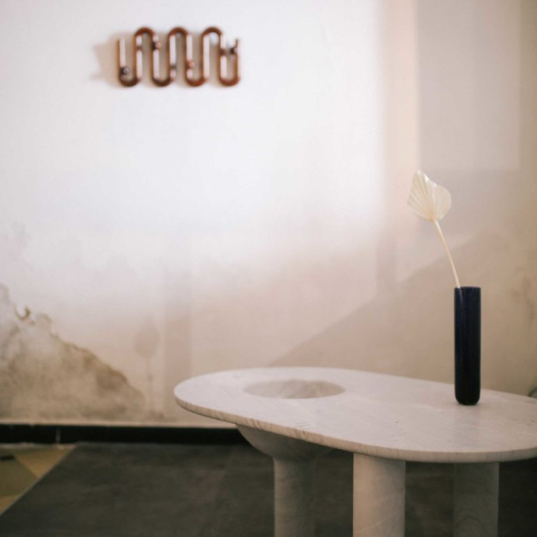 Bacchus table by Tom Skeehan