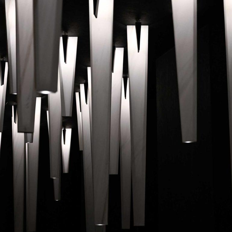 Materiattiva - ceramic stalactites