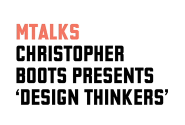MPavilion Talk Design Thinkers Christopher Boots