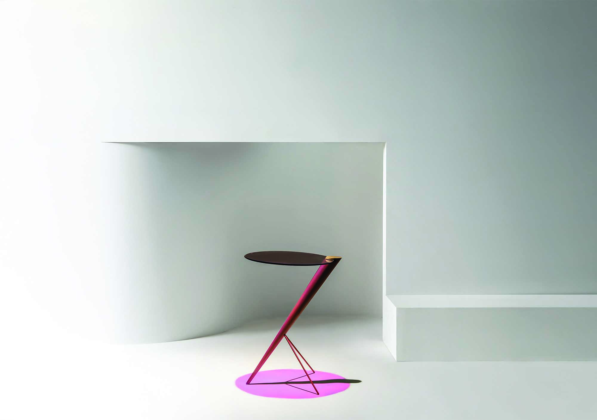 CHROIC SIDE TABLE by Callan Kneale