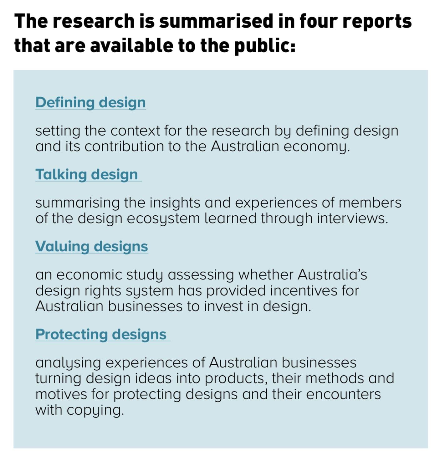IP Australia report