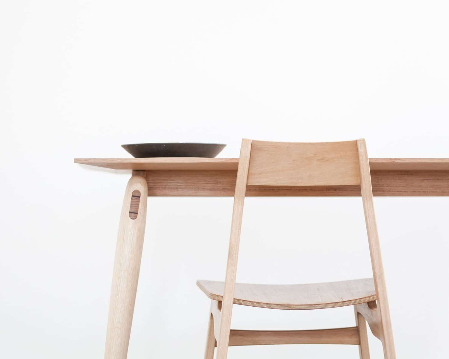 Fred Table & Flea Chair by Adam Markowitz, Photography Ben Clement
